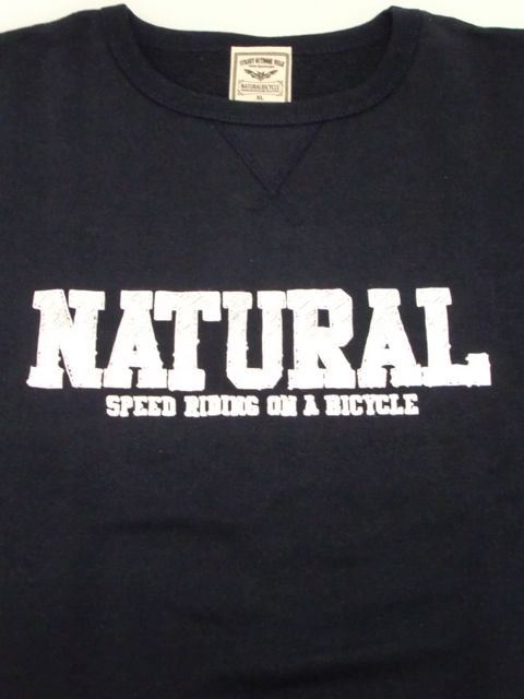 [NATURAL BICYCLE] NATURAL SIGN Crew Sweat(NV)1
