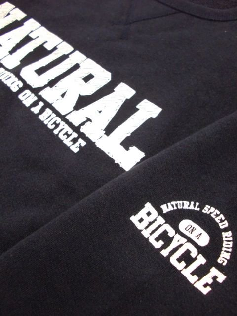 [NATURAL BICYCLE] NATURAL SIGN Crew Sweat(NV)2