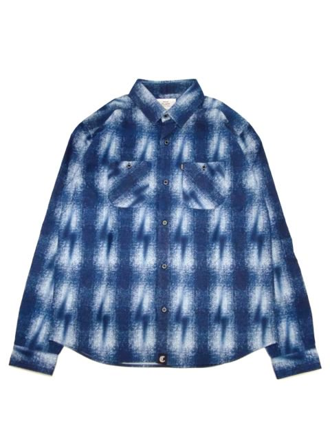 [CLUCT] LIGHTNING SHADOW PLAID SHIRT1