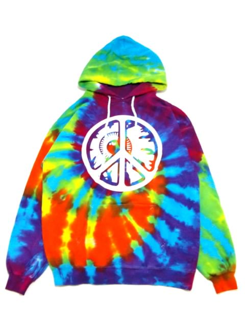 [MISHKA] PEACE KEEP WATCH GID PULLOVER HOOD