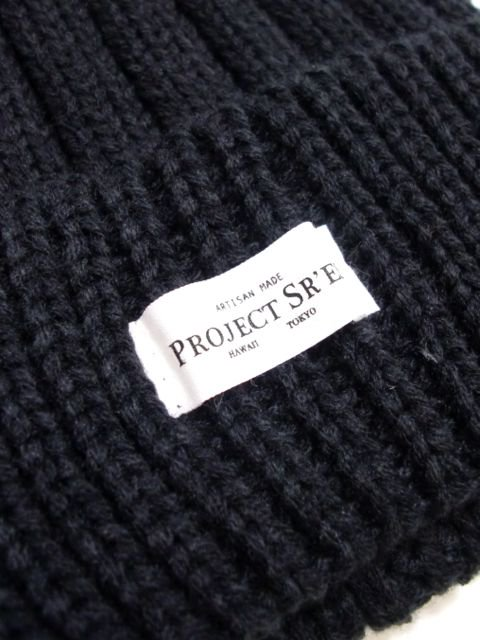 [PROJECT SR'ES] COLOR RIB KNIT BEANIE1