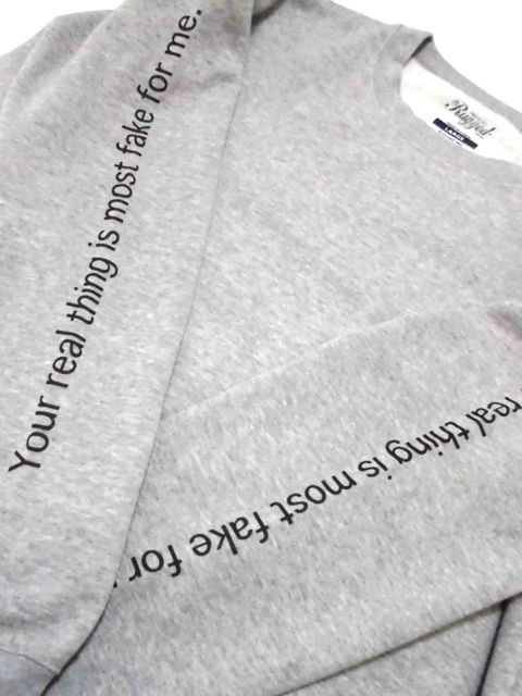 [RUGGED] ''real/fake'' sweat1