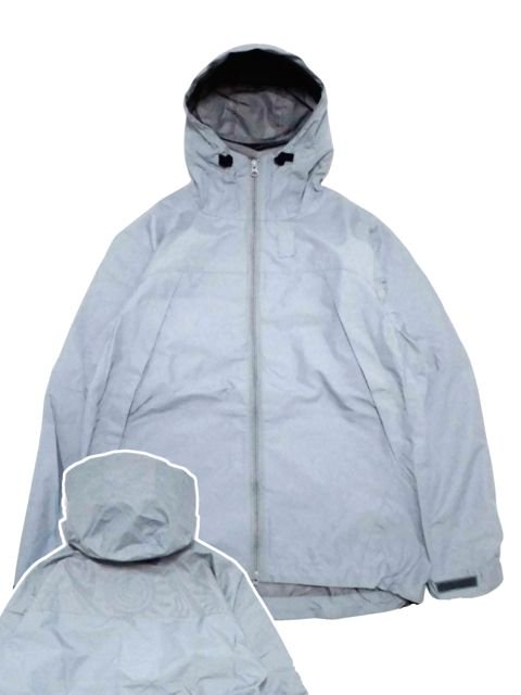 "[NATURAL BICYCLE] Nylon Mountain Parka ""Refrecter""(GR)"