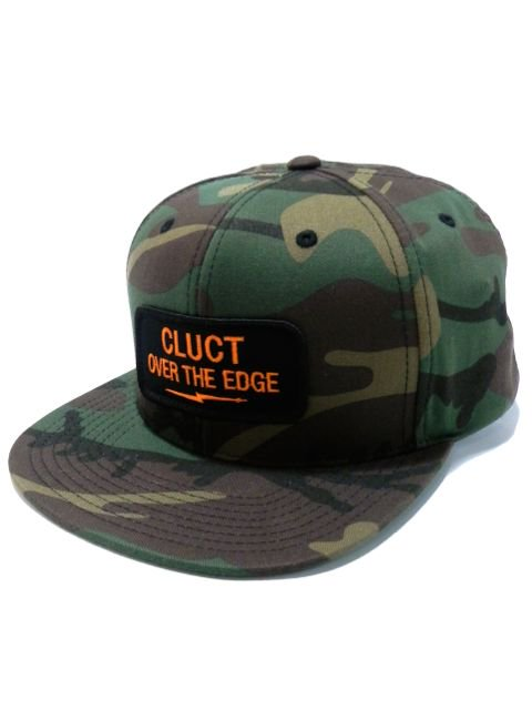 [CLUCT] OVER THE EDGE SNAPBACK(CA)