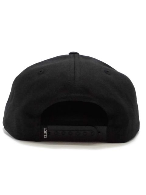 [CLUCT] OVER THE EDGE SNAPBACK(BK)2