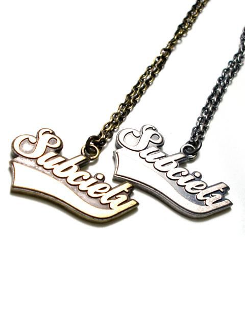 [SUBCIETY] METAL NECKLACE -GLORIOUS-1