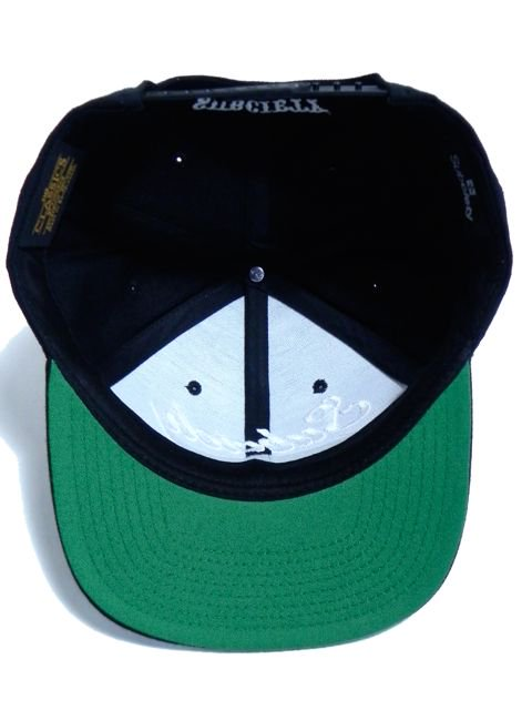 [SUBCIETY] SNAP BACK CAP -GLORIOUS-(BK/WH)3