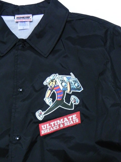 [MANIC DEE] ULTIMATE BREAKS&BEATS COACH JACKET1