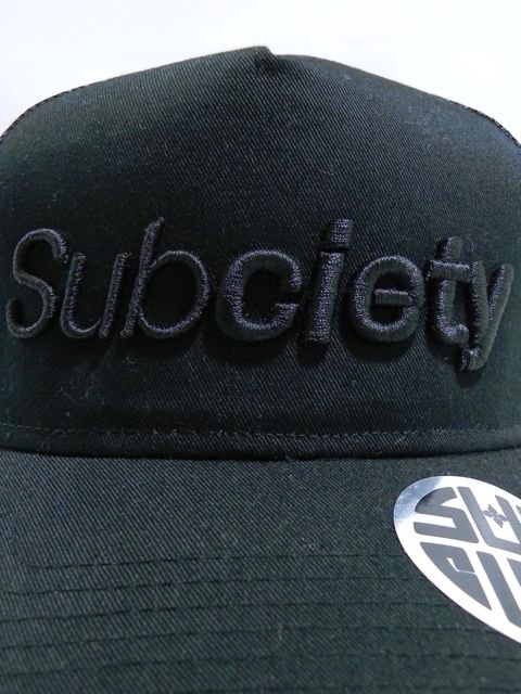 [SUBCIETY] MESH CAP-THE BASE-1
