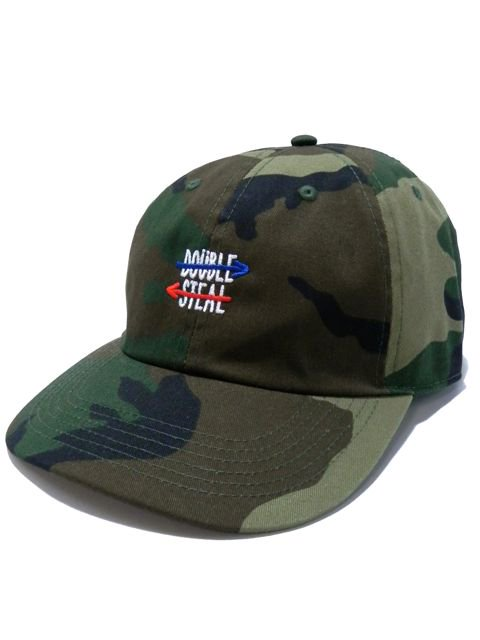 [DOUBLE STEAL] DOUBLE ARROW 6PANEL CAP