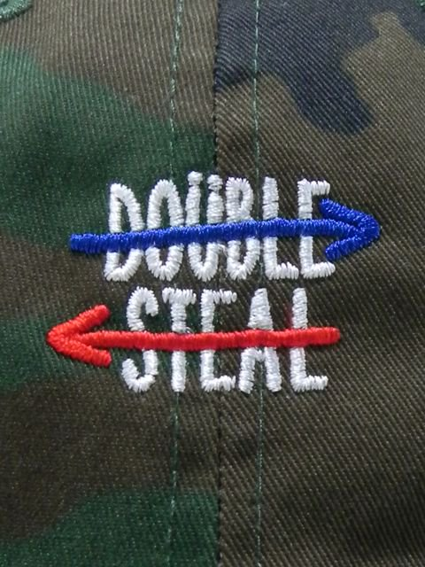 [DOUBLE STEAL] DOUBLE ARROW 6PANEL CAP1