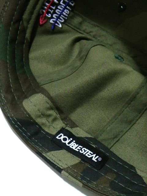[DOUBLE STEAL] DOUBLE ARROW 6PANEL CAP3