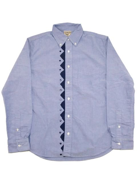 "[NATURAL BICYCLE] Cotton B.D.Shirt ""Mount & Moon"""