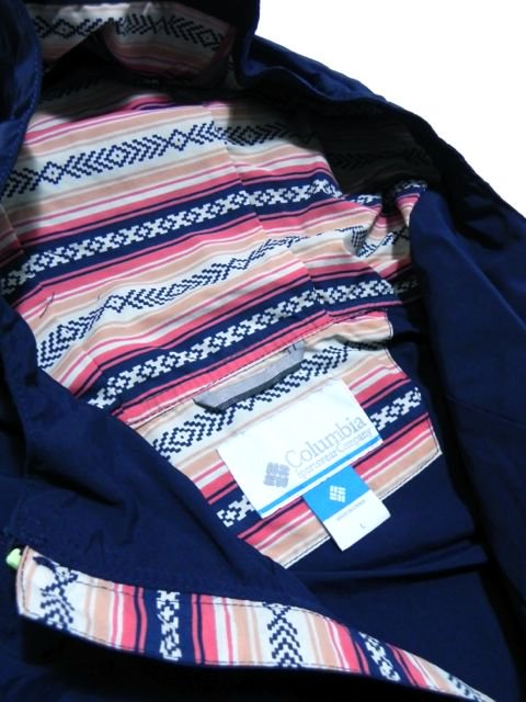 [COLUMBIA] HAZEN PATTERNED JACKET「販路限定モデル」(NV)2