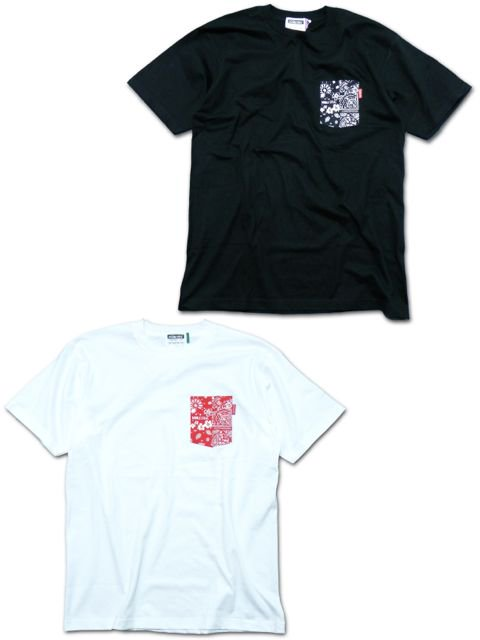 [DOUBLE STEAL] BANDANA POCKET TEE