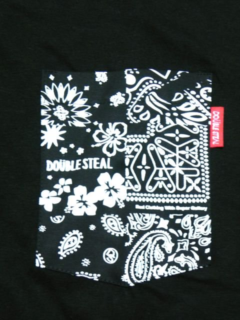 [DOUBLE STEAL] BANDANA POCKET TEE2