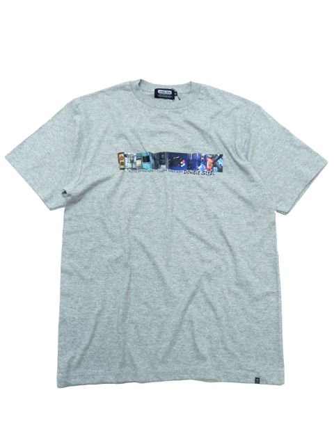 [DOUBLE STEAL BLACK] STREET PHOT TEE
