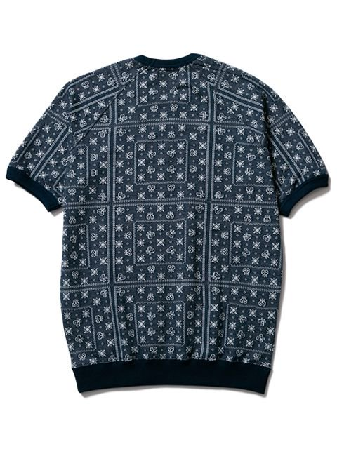[CLUCT] JACQUARD S/S CREW3