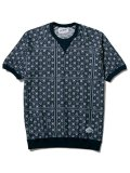 [CLUCT] JACQUARD S/S CREW
