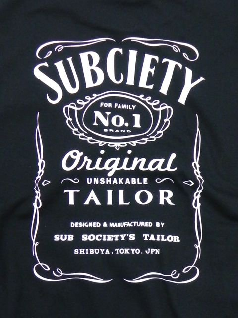 [SUBCIETY] Tailor SUBCIETY S/S2