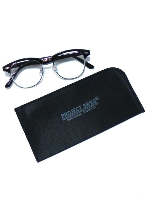 [PROJECT SR'ES] Hana GLASSES(BK/CL)3