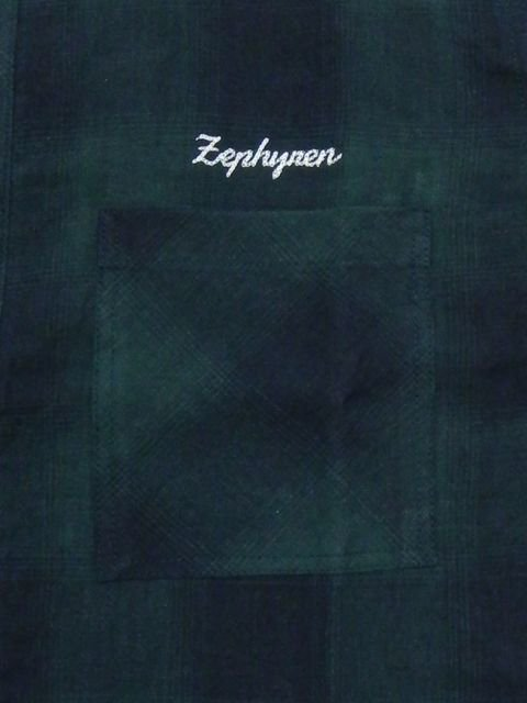 [ZEPHYREN] CHECK SHIRT S/S -Resolve-(GR)1