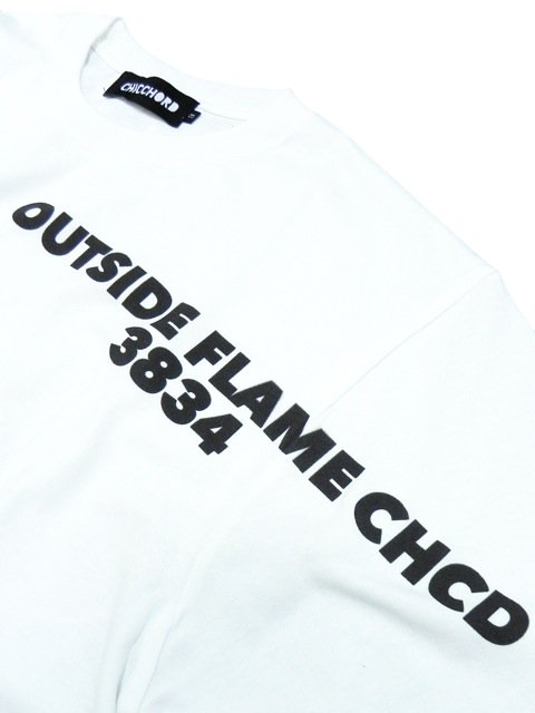 [CHICCHORD] OUTSIDE FLAME L/S TEE1