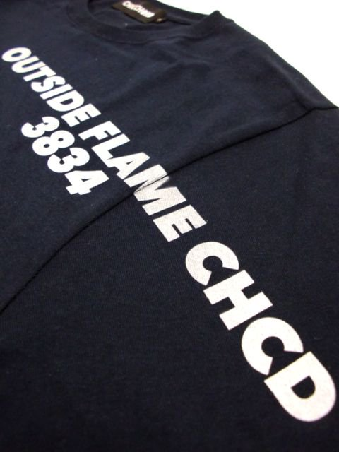 [CHICCHORD] OUTSIDE FLAME L/S TEE2