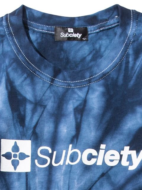 [SUBCIETY] TIE DYE TEE-THE BASE-(NV)2