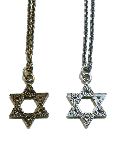 [SUBCIETY] METAL NECKLACE-Hexagram-