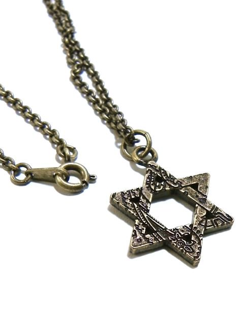[SUBCIETY] METAL NECKLACE-Hexagram-1