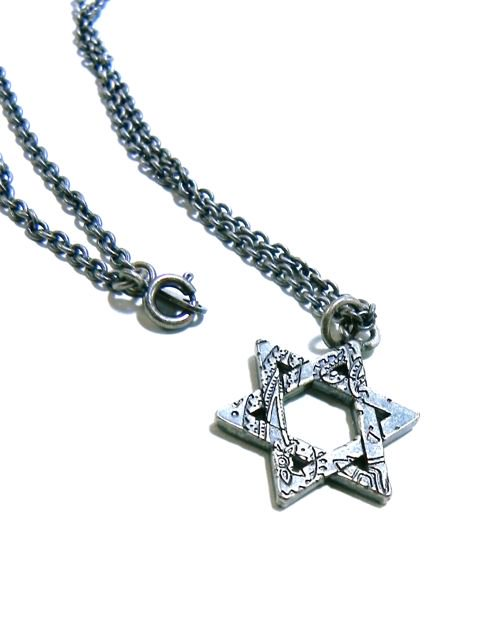 [SUBCIETY] METAL NECKLACE-Hexagram-2