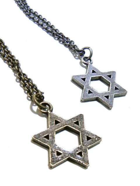 [SUBCIETY] METAL NECKLACE-Hexagram-3