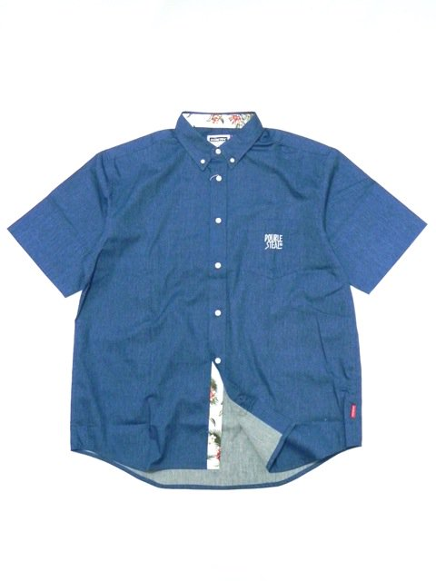 [DOUBLE STEAL] PARTS ALOHA B.D SHIRT
