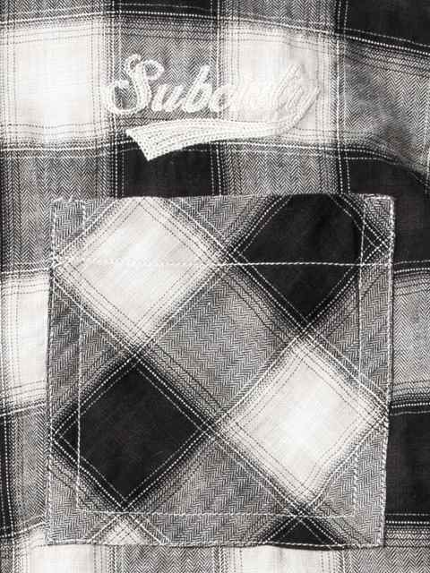 [SUBCIETY] CHECK SHIRT S/S-GLORIOUS-2