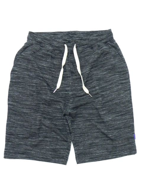 [RUGGED] ''boutique logo'' sweat shorts(BK)