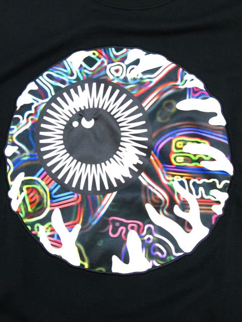 [MISHKA] NEON KEEP WATCH T-SHIRT1