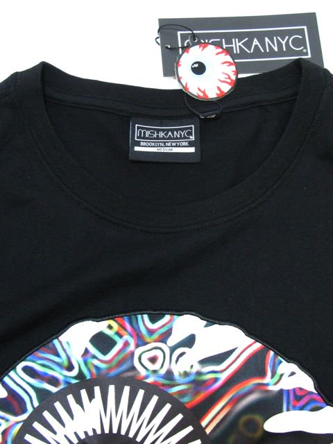 [MISHKA] NEON KEEP WATCH T-SHIRT3