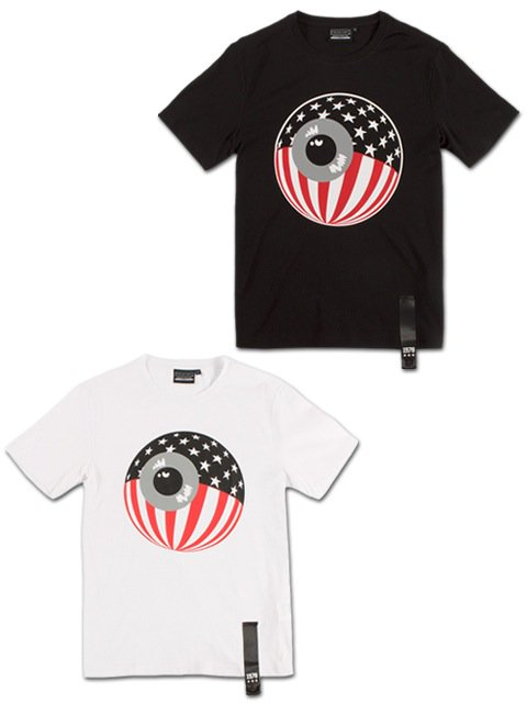 [MISHKA] PATRIOT KEEP WATCH T-SHIRT