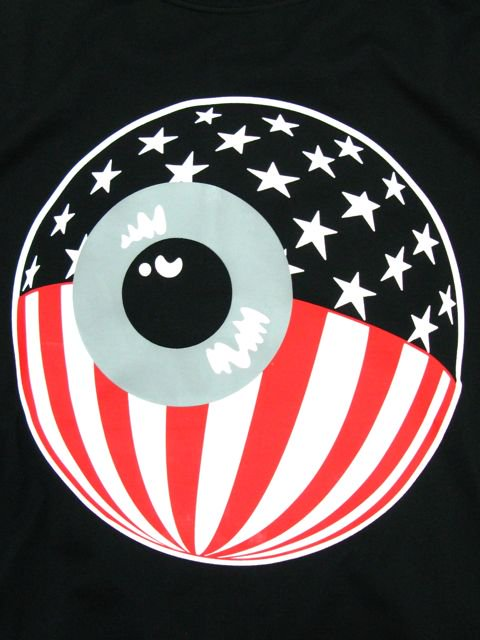 [MISHKA] PATRIOT KEEP WATCH T-SHIRT1