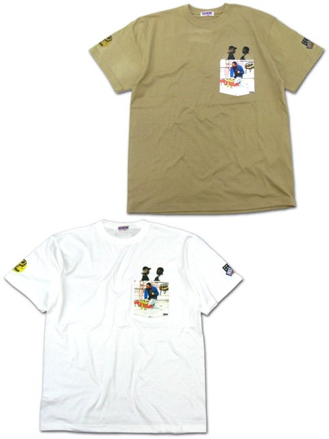 [MANIC DEE] DUCK DOWN POCKET TEE