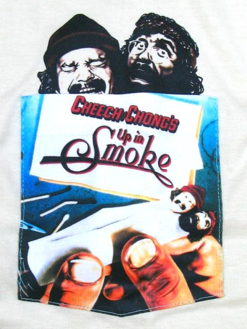 [MANIC DEE] UP IN SMOKE POCKET TEE1