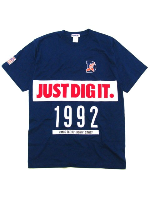[MANIC DEE] JUST DIG IT. BIG PATCH TEE