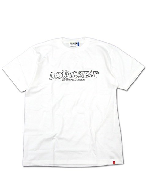 [DOUBLE STEAL] PENCIL BASIC LOGO TEE