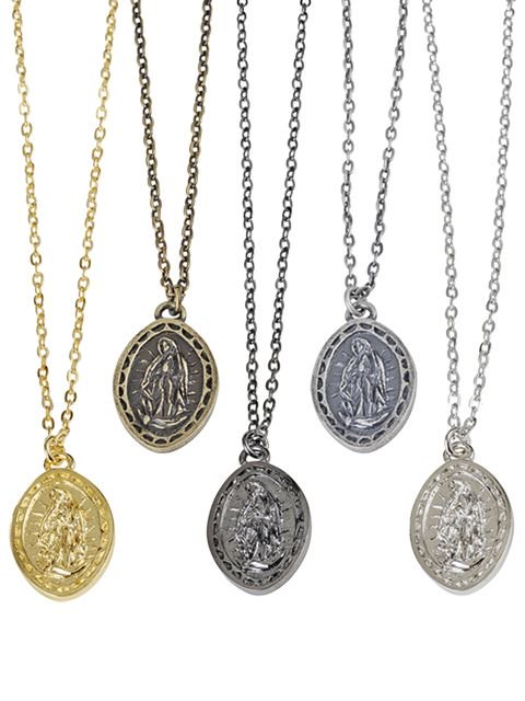 [SUBCIETY] METAL NECKLACE -Guadalupe-