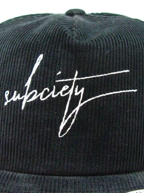 [SUBCIETY] CORDUROY SNAP BACK CAP1