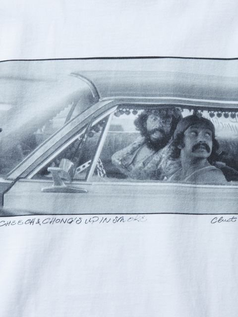 [CLUCT] CHEECH&CHONG × CLUCT L/S TEE(WH)1