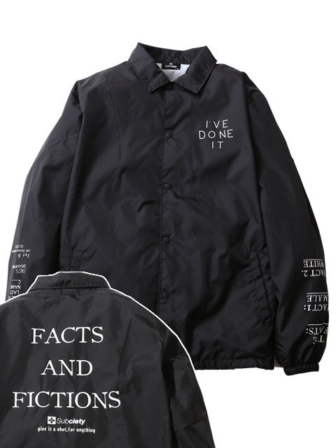 [SUBCIETY] COACH JACKET-THE FACTS:-