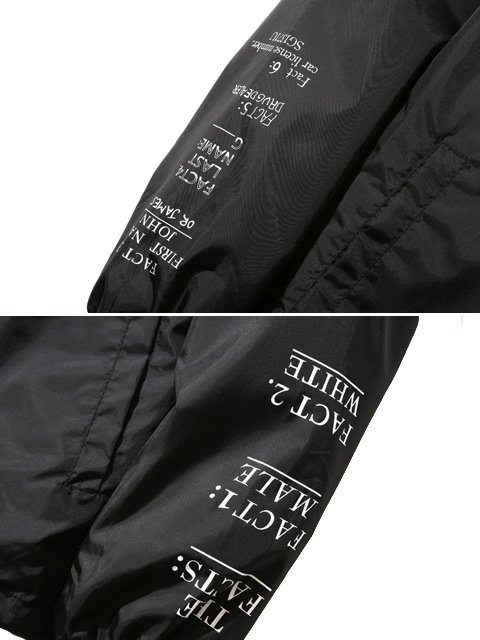 [SUBCIETY] COACH JACKET-THE FACTS:-2
