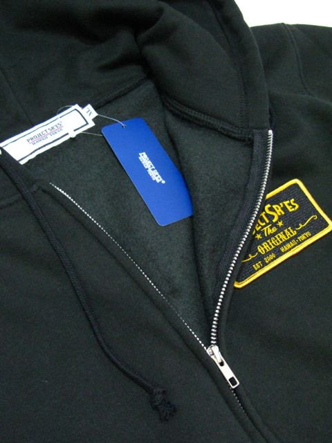 [PROJECT SR'ES ] NEW SIGN HEAVYoz ZIP UP JKT(BK)2